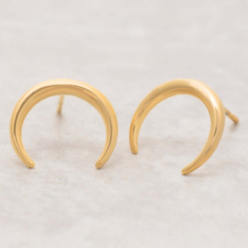 LUNA Gold minimalist gold steel chip...
