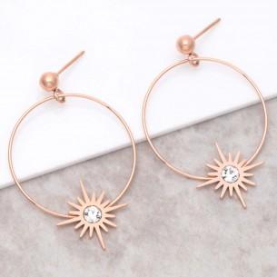 STELLA Pink Gold pendant...