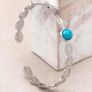 JANGO Turquoise Silver
