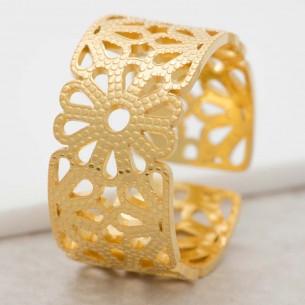 SPRING Gold floral...