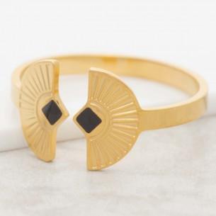 NEFER Black Gold minimalist...