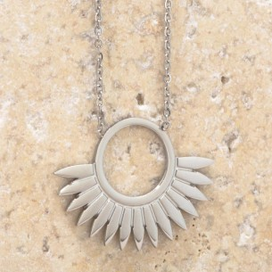 JANGO Silver short necklace...