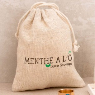 ECO-RECYCLE gift bag MENTHE...