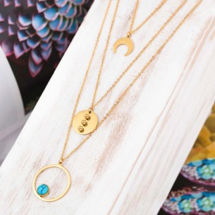 DYSQUAL Gold collier...