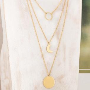 DYSQUAL Gold minimalist...