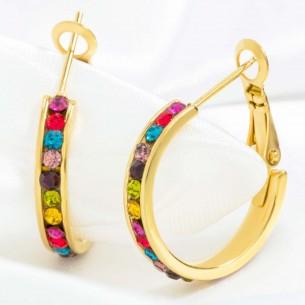 Earrings ORIANA STEEL COLOR...