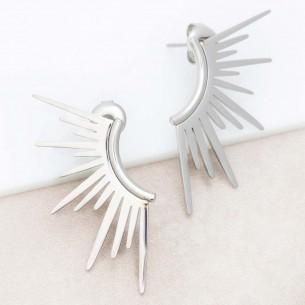 SUNRISE Silver Earrings...