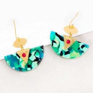 MINARAL Color Gold Earrings...