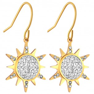 SUNNY Gold Silver boucles...