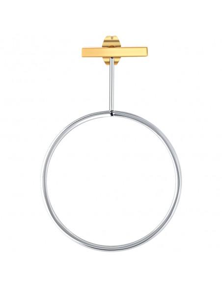 Bijoux boucle d'oreille Menthe À l'O BOESNA pendante acier inoxydable doré argent Bijoux Sauvages