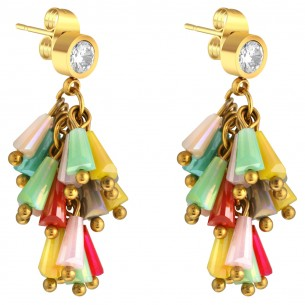 GLORIA Color gold boucles...