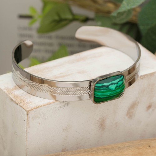 GEOLYS Gold Silver bracelet manchette...