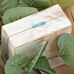 ROCAS Blue Silver bracelet...