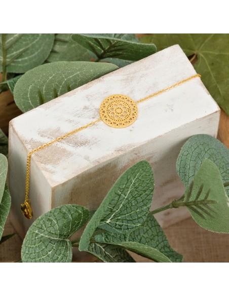 Bijoux bracelet fin KOBAL  Menthe À l'O  acier inoxydable doré argent Bijoux Sauvages