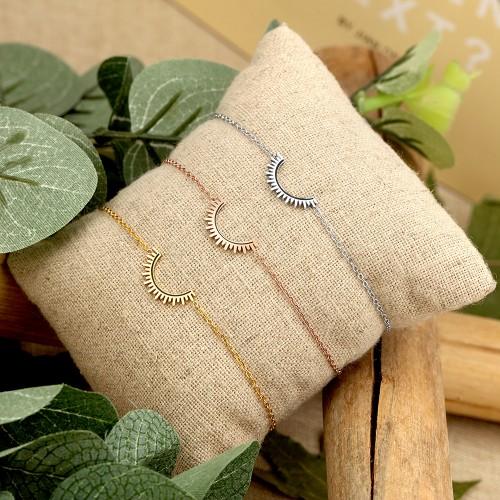 CELESTA Silver Pink Gold bracelet...