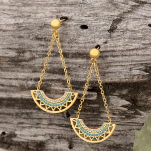 CAMELO Gold SIlver pendant...