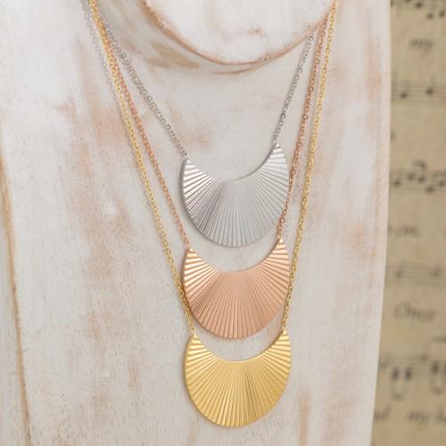 PALMERAIE Pink Gold Silver short...