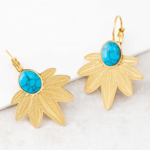 NATULIS Turquoise Gold sleeper...