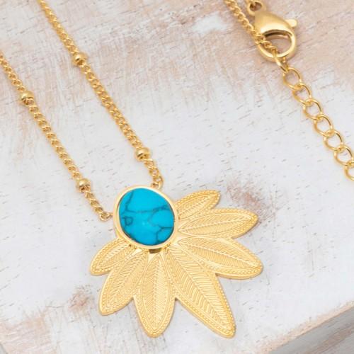 NATULIS Turquoise Gold