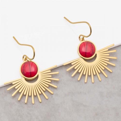 EKIS Coral Gold solar pendant...