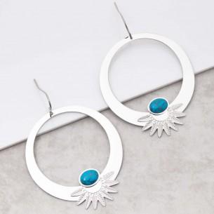 EKISOR Turquoise Silver
