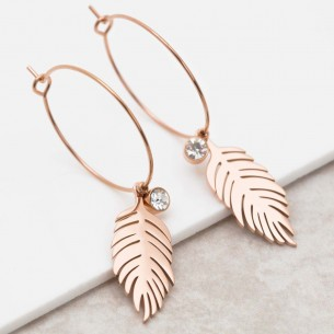 BIRD CRYSTAL Pink Gold...
