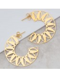 ELOA Gold boucles...