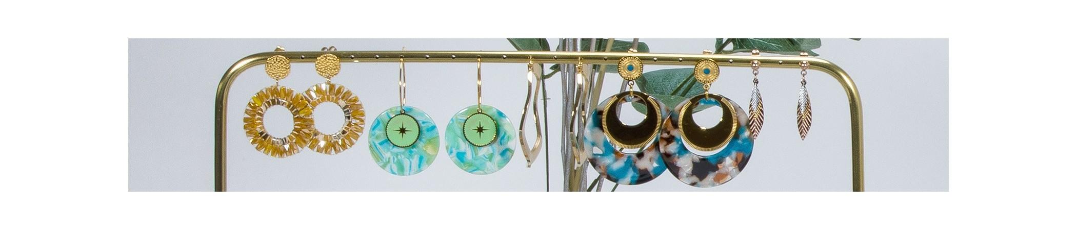Boucles d'oreilles & bijoux de créateur Menthe À l'O - Bijoux Sauvages